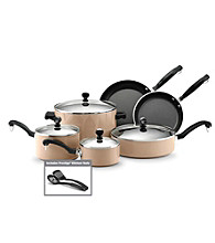 Farberware® Classic Colors 12-pc. Camel Aluminum Cookware Set