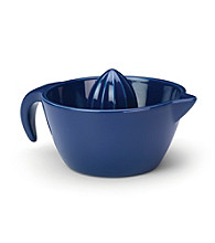 Rachael Ray® Blue Stoneware Juicer