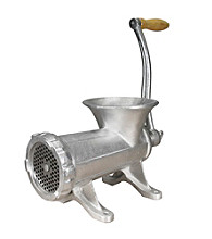 Weston #22 Tinned Manual Meat Grinder