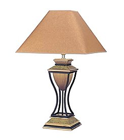 Ore International™Home Decor Antique Bronze Table Lamp