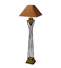 Ore International™ Home Decor Antique Bronze Floor Lamp
