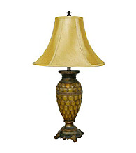 Ore International™ Classic Honey Table Lamp