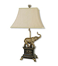 Ore International™ Elephant Table Lamp