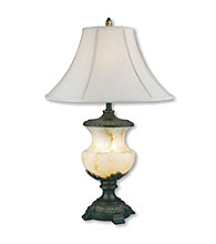 Ore International™ Alabaster Table Lamp and Night Light