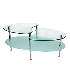 W. Designs Mariner Oval Cocktail Table