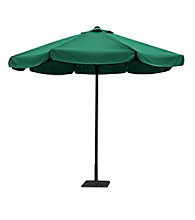 W. Designs 10' Round Dark Green Patio Umbrella