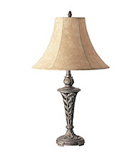 Ore International™ Antique Brass Table Lamp
