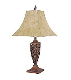 Ore International™ Bronze Finish Table Lamp