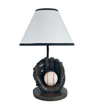 Ore International™ Baseball Accent Lamp