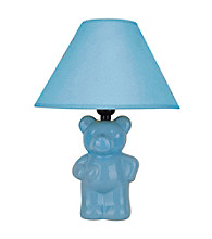 Ore International™ Ceramic Teddy Bear Lamp