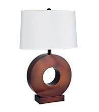 Ore International™ O-Shape Table Lamp
