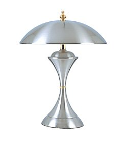 Ore International™ Silver Touch Lamp
