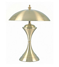 Ore International™ Brushed Gold Touch Lamp