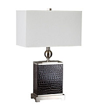 Ore International™ Animal Print Table Lamp