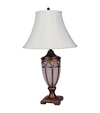 Ore International™ Victorian Table Lamp With Night Light