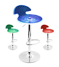 Lumisource® Spyra Color Changing LED Bar Stool