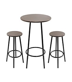 Lumisource® Zella Espresso Bar Table Set