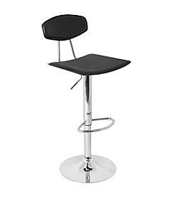 Lumisource® Vector Black Bar Stool