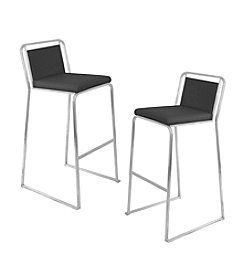 Lumisource® Pair of Cascade Bar Stools