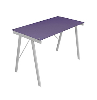 Lumisource® Purple Exponent Office Desk