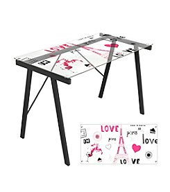 Lumisource® Love in Paris Office Desk