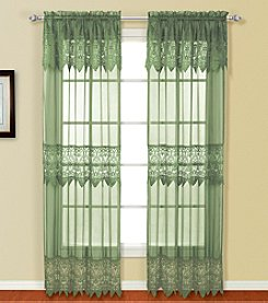 Valerie Window Panel by United Curtain Co.
