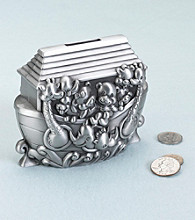 Lillian Rose® Noah's Ark Pewter Bank