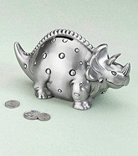 Lillian Rose® Dinosaur Pewter Bank