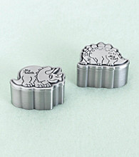 Lillian Rose® Dinosaur Pewter Tooth & Curl Box