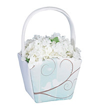 Lillian Rose® Love Birds Flower Basket