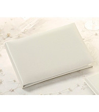 Lillian Rose® Plain Satin Guest Book