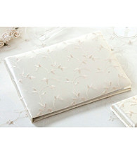 Lillian Rose® Elegant Satin Guest Book Ivory