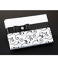 Lillian Rose® Black & White Guest Book