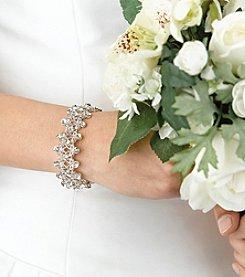 Lillian Rose® Rhinestone Bracelet