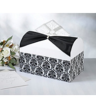 Lillian Rose® Black/White Card Box