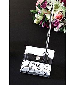 Lillian Rose® Black & White Pen Set