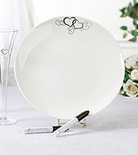 Lillian Rose® Round Platter With Two Pens