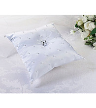 Lillian Rose® White Pearl Ring Pillow