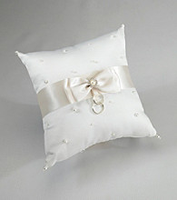 Lillian Rose® Scattered Pearl Pillow