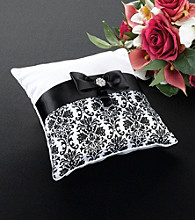 Lillian Rose® Black Damask Pillow