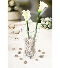 Lillian Rose® Signing Stones with Vase