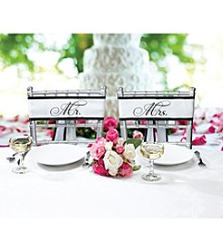 Lillian Rose® Mr. & Mrs. Chair Sashes