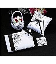 Lillian Rose® Black/White Wedding Set