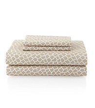 Casa by Victor Alfaro Flexi-Fit Deep Pocket Giraffe Sheet Sets