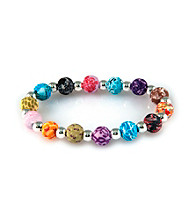 Viva Beads® Festival 8mm Classic Clay Bead Stretch Bracelet