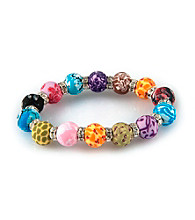 Viva Beads® Festival 12mm Crystal Chunky Stretch Bracelet