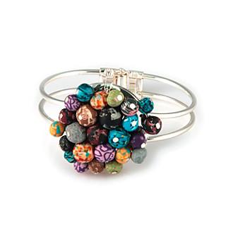 Viva Beads® Festival Flat Cluster Cuff