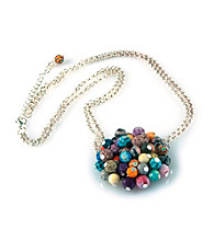Viva Beads® Festival Flat Cluster Necklace