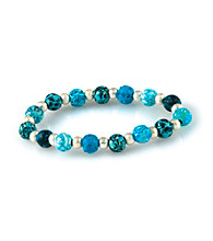Viva Beads® Blue Brook Classic Crystal Bits Bracelet