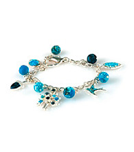 Viva Beads® Blue Brook Charm Chain Bracelet